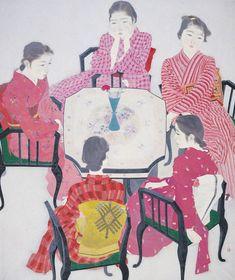 """postponementt:  """"Red Clothes"""" by Akino Fuku, 1938."""