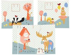 Forest Play curtain picture