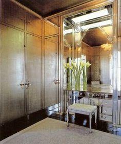 dressing room designed by frances elkins, 1937