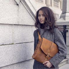 The Signature Messenger Bag - ILUNDI - genuine leather Leather Backpack, Leather Bag, Messenger Bag, Bags, Shopping, Design, Fashion, Handbags, Moda