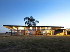 Brent Knoll casa, rural Victoria, diseñado por Studio marzo. Fotos - John Gollings.