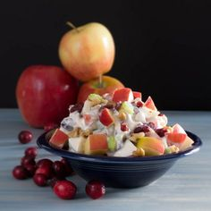 Waldorf Salad with Greek Yogurt-Enjoy this recipe and for great motivation, health and fitness tips, check us out at: www.betterbodyfitnessbootcamps.com Follow us on Facebook at: www.facebook.com/betterbodyfitnessbootcamps