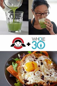 Day Breakfast of Champions - My favorite weekday breakfast combo of Sunnyside Salad and Cold Matcha Latte! Whole 30 Diet, Paleo Whole 30, Whole 30 Recipes, Whole 30 Breakfast, Paleo Breakfast, Breakfast Recipes, Breakfast Ideas, Nom Nom Paleo, Whole30