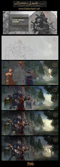 ArtStation - BREAKDOWN - Royal Expeditionary Forces, Esben Lash Rasmussen