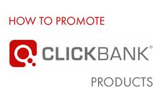 promote-clickbank-products