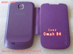 Kode Barang 1854 Jual Flip Cover Case Samsung Galaxy Mini S5570 Ungu (Purple) | Toko Online Rame - rameweb