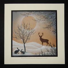 Sandma's Handmade Cards: Rudolph Day - March 16