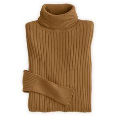 Fair Indigo Fair Trade Organic Ribbed Turtleneck Sweater (225 PEN) ❤ liked on Polyvore featuring tops, sweaters, turtleneck sweaters, sweater pullover, turtle neck sweater, brown turtleneck sweater and ribbed turtleneck