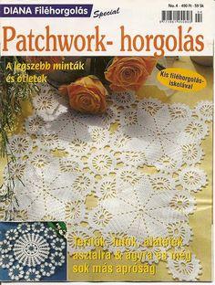 DIANA Filéhorgolás Special No. 04 Pathwork- horgolás - Gyöngyi Gál - Picasa Web Albums