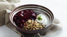 Bagt rødbede og linsesalat   Bitz' Store Kur   frokost