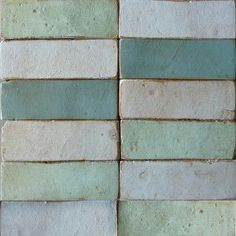 Brick (textured) By Tabarka Studio - handmade terracotta tiles - many colors - (showrooms in Knoxville, Chattanooga, Nashville, Bowling Green, Charlotte. Textures Patterns, Color Patterns, Color Schemes, Palette Verte, Brick Texture, Tiles Texture, Tadelakt, Tile Design, Color Inspiration