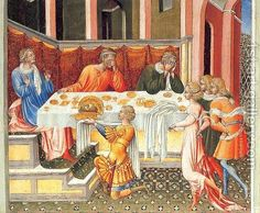 Giovanni di Paolo:The Feast of Herod 1453