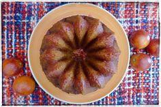Blood orange & olive oil bundt cake - Bundt cake de naranja sanguina | Sweetmariquilla