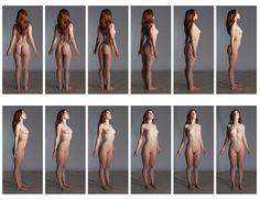 Art Models pose vaunt206 Contact Sheet A