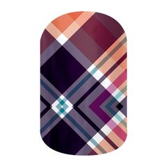 Poised Plaid (Matte)  Buy 3 sheets of nail wraps and receive 4th FREE! Contact me for a free sample.  ashleydean.jamberrynails.net