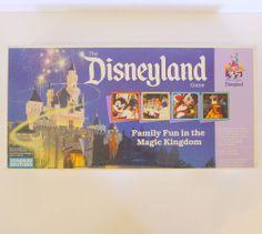 Vintage Disney Parker Brothers The Disneyland Game Family Board Game