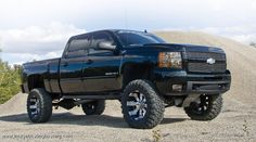 jacked up trucks - Google Search