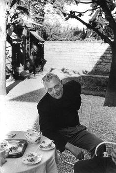 Jacques Tati 1958 - Photo Henri Cartier Bresson