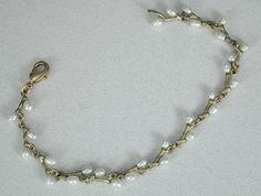 Silver Seasons - Michael Michaud - Irish Thorn Bracelet