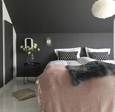 Dark gray bedroom ideas dark grey bedroom the best dark gray bedroom ideas on grey teenage . Charcoal Bedroom, Dark Gray Bedroom, Gray Bedroom Walls, Dark Grey Walls, Bedroom Wall Colors, Accent Wall Bedroom, Bedroom Loft, Bedroom Furniture, Master Bedroom