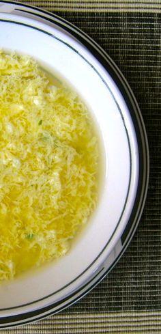 Stracciatella | Italian Egg Drop Soup
