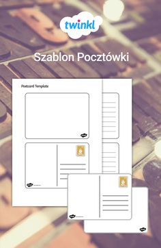 A set of lovely postcard templates, great for English lessons on informal writing styles and for supporting independent writing activities. Hymen, Postcard Template, Informational Writing, Ways To Communicate, Writing Styles, New Names, English Lessons, Writing Activities, Funny Stories