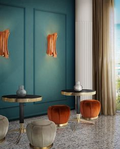 Color Trends 2019: Introduce Cantaloupe Into Your Home Decor  #Cantaloupe #colortrends2019 #interiordesign