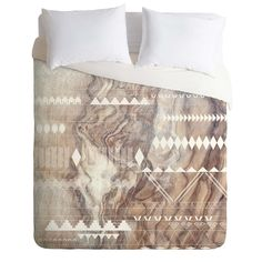 Iveta Abolina Geo Steps Duvet Cover | DENY Designs Home Accessories