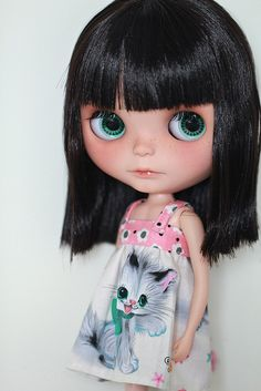 more more kitty dress! by Simmi., via Flickr