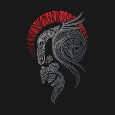 Odin's horns | Norsemen | Pinterest | Tattoos, Celtic ... Lokis Children Norse Mythology