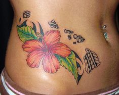 28 Best Hawaiian Flower Tattoos Images Beautiful Flowers Exotic