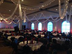 Uplighting Schwartz Wedding Reception 10/12/2013