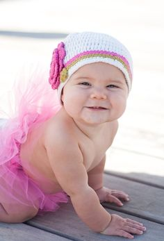 If we have another little girl she will have hats like this :)