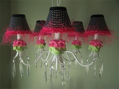 hot-pink-flower-chandelier