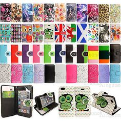 Flip wallet #leather case #cover for apple iphone 5 5s with free screen #protecto,  View more on the LINK: http://www.zeppy.io/product/gb/2/201306969520/