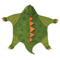 Dino Hooded Towel.
