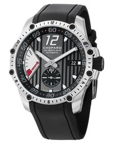 Chopard Classic Racing Superfast Power Control Men's Automatic Watch RBK thumbnail Stylish Watches, Luxury Watches, Rolex Watches, Wrist Watches, Christmas Presents For Dad, Christmas Gifts, Swiss Army Watches, Automatic Watches For Men, Black Rubber