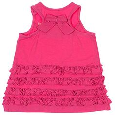Guess Babygirls Sleeveless Dress w Diaper Cover Pink -- Be sure to check out this awesome product.