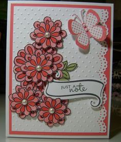 """Petals and Wings"" - Verve Challenge by bhappystamper - Cards and Paper Crafts at Splitcoaststampers"