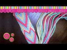 Monedero/Clutches Wayuu part 2/5 - YouTube