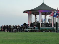 concert at the gazebo by the bay
