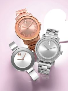 It's always time for love, Movado watches