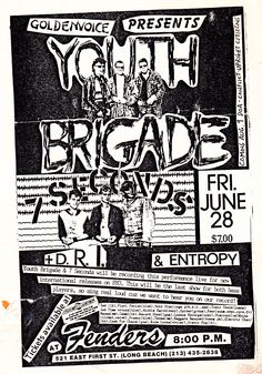 Youth Brigade, 7 seconds at Fenders