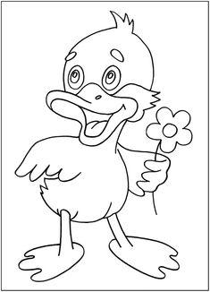 раскраски цыпленок для малышей бесплатно   Раскраски ...
