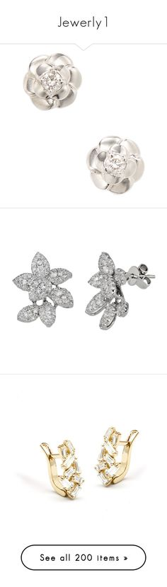 """""""Jewerly1"""" by wellingtonalice ❤ liked on Polyvore featuring jewelry, earrings, silver, vintage stud earrings, silver earrings, white gold stud earrings, diamond stud earrings, silver diamond earrings, sparkly earrings and earring jewelry"""
