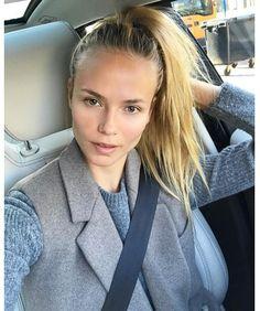 La mise en beauté de Natasha Poly sur Instagram