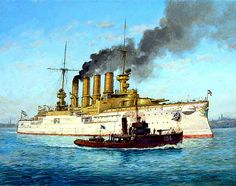 Armored Cruiser Scharnhorst 1907 Including Battle Of The Falkland