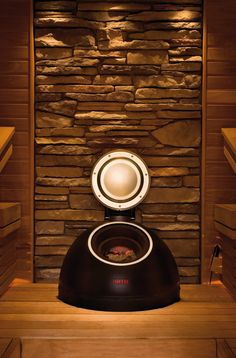 "SAUNATONTTU  Helo and worlds-renowed designer, Ristomatti Ratia, created the ultimate sauna heater - the Helo Saunatonttu. Incorporating several patented features and superb European design, the Saunatonttu is truly the ""Best sauna heater in the world"", bar none. The secret of Saunatonttu is in the constant heat retaining by the large quantity of rocks (ca. 220#) within the super-insulated heater."