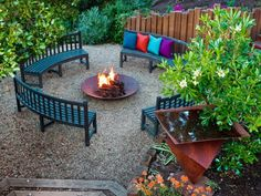 17 feuerstelle designs im garten-den patio bereich gemütlich, Garten und erstellen