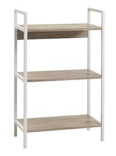 Wandrek TISTRUP wit/eik | JYSK Helsinki, Betta, Corner Desk, Bookcase, Shelves, Table, Furniture, Home Decor, Shelving